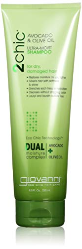 Moist Oil - Giovanni 2chic Avocado & Olive Oil Ultra-moist Shampoo, 8.5 Fluid Ounce