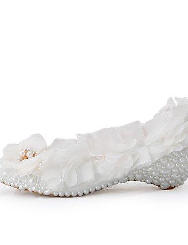 eadc4b4dc48acc Ggx/femme Talon compensé Chaussures compensées talons Mariage/fête & Soir/robe  Blanc - - under 1in-us10.5/eu42/uk8.5/cn43,: Amazon.fr: Chaussures et Sacs