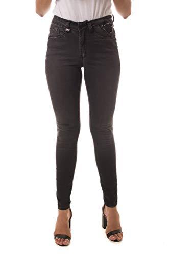 Calça Jeans Denuncia Mid Rise Skinny Preto 38