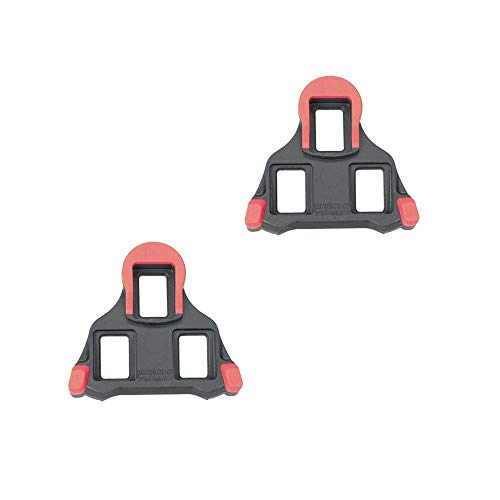- Shimano Y42U98020 cleat set, SH10-(0d/red) pair