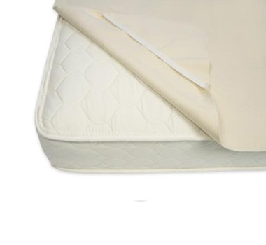 Naturepedic Organic Non-Waterproof Protector Pad with Straps