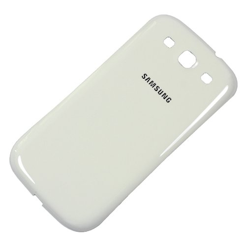 Battery Back Door Replacement for Samsung Galaxy S III S3 i9300 - Marble White (Samsung S3 Back Cover)