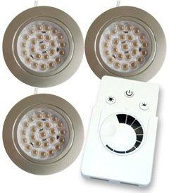 LED Einbauleuchten Set 24V kalt-weiß: Amazon.de: Küche & Haushalt