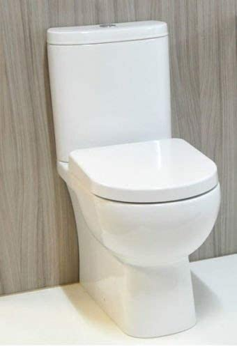 RAK Tonique Fully Back To Wall Close Coupled Comfort Height Toilet Soft Close Seat