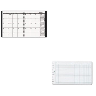 KITAAG7026005WLJ75850 - Value Kit - Wilson Jones Extra Sheets for Six-Ring Ledger Binder (WLJ75850) and At-a-Glance Recycled Monthly Planner (AAG7026005) ()