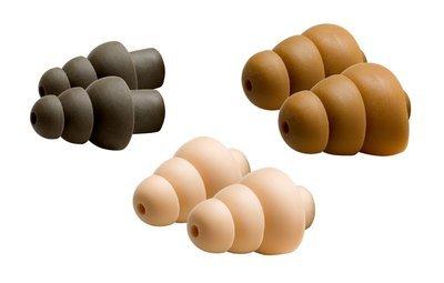 3M (COMBATTIPS) Ear Tips S-M-L COMBATTIPS, 3 pr/bag, 50 bg/cs