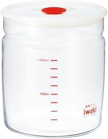 iwaki(イワキ) 耐熱ガラス 密閉パック 1L KT7002MP-R
