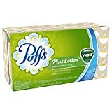 Puffs Plus Lotion Facial Tissues with the Scent of Vicks, 1 box (88 count), - 2pc by Puffs