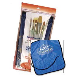 Grip Soft Brush Royal (Royal Soft Grip Combo Artist Brush Set - Sg405 - Single)