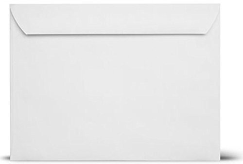 10 x 13 White Booklet Envelopes 24lb - 500 per case Superfine Printing Inc.