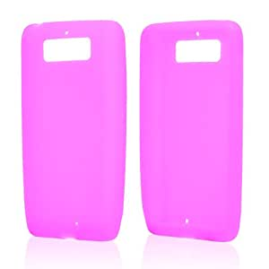 Hot Pink Silicone Skin Case For Motorola Droid Mini
