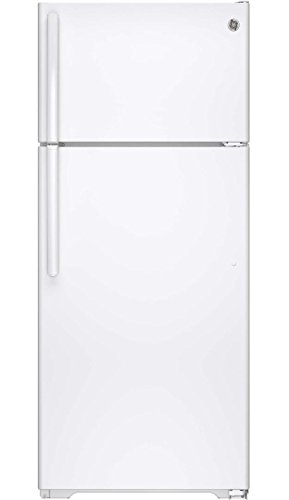 GE GTS18GTHWW 17.5 Cu. Ft. White Top Freezer Refrigerator