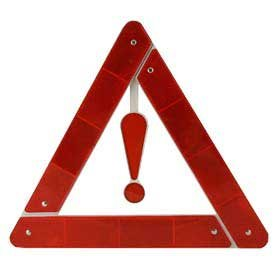 Highway Triangle (Highway Safety Triangle, Automobile Emergency Signal)