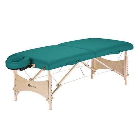 EARTHLITE Portable Massage Table HARMONY DX – Eco-Friendly Design, Hard Maple, Superior Comfort, Deluxe Adjustable Face Cradle, Heavy-Duty Carry Case (30' x 73')