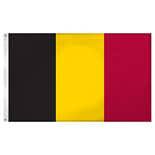 3X5 Belgium Flag 3'X5' House Banner Grommets Fade Resistant Quality