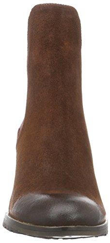 nobrand Vane - botines chelsea de cuero mujer marrón - Braun (brown riviera)