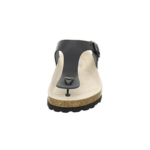 Glattleder Unisex 310723 Schuhe Schwarz Pantolette AFS wHgFxXYfTq
