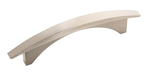 Amerock BP29415-G10 Essential'Z Collection 96-Millimeter Center-to-Center Pull, Satin Nickel