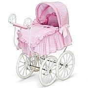 Victorian Baby Doll Pram Stroller - 5