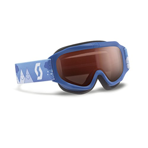 (Scott 2016/17 Youth Trooper Junior Winter Snow Goggles - Amplifier Lens - 240137 (Blue - Amplifier Lens))