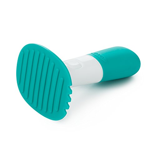 31YVB0vizrL - OXO Tot Food Masher, Teal