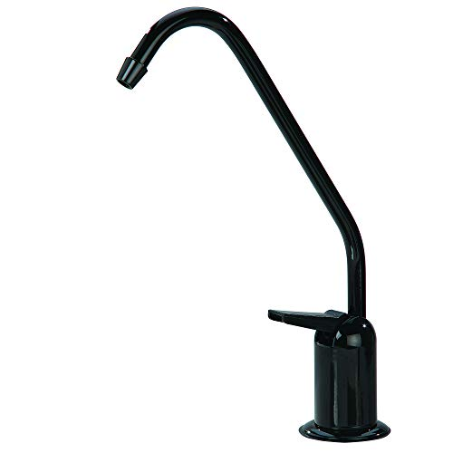 Watts Pureteck 116069 Standard Auxiliary Faucet, Black ()