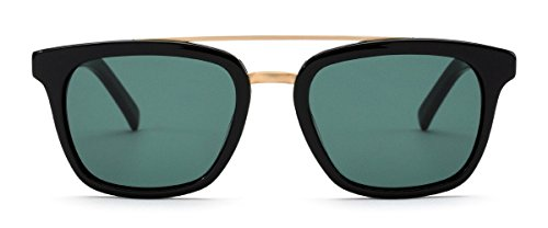 OTIS Eyewear Non Fiction : Black/Green Polarized Unisex - Otis Sunglasses