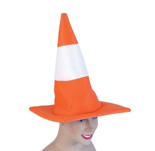 Traffic Cone Hat (Hats) - Unisex - One