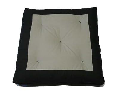 Amazon.com : D&D Futon Furniture Center Gray Zabuton, Yoga ...