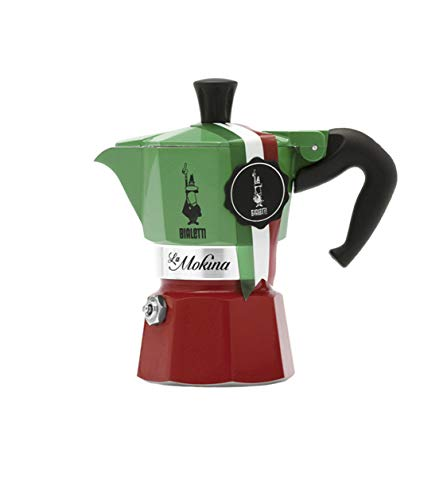 Bialetti La Mokina 1/2 Cup Mini Moka Express For Sale