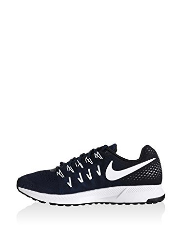 NIKE Men's Air Zoom Pegasus 33 TB Running Shoes (15 D(M) US, Midnight Navy/White-Black-Pure Platinum) by NIKE