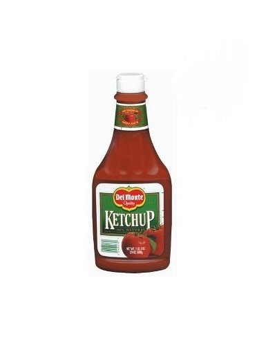 Del Monte Squeeze Bottle Ketchup 24 Oz (4 Pack) ()