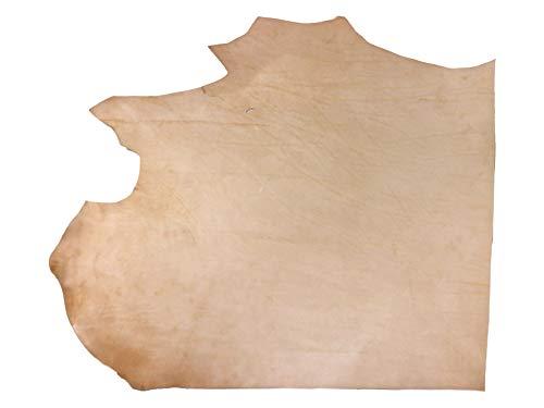 Leather Large Tan (Import Veg Tan Tooling Cowhide Single Shoulder 5-7 oz 4-6 Sqft)