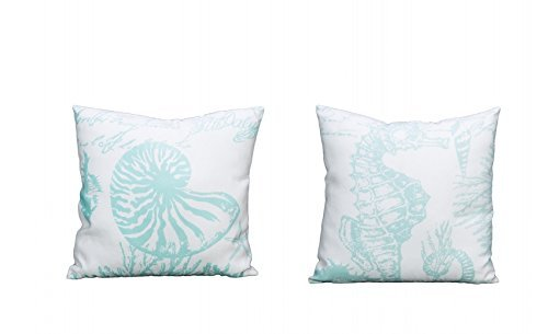Beachcombers SS-Bcs-02828 Floor Pillows, White by Beachcombers