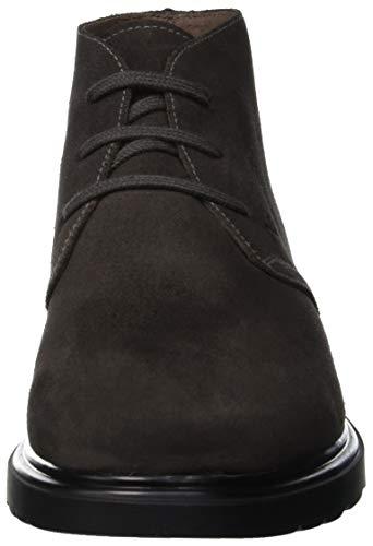 Grigio Colorado Mocassini Giardini Asfalt Camo Uomo Loafer Ante 102 Grey Nero xZ7q0WW
