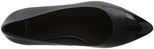 Toe Black Vagabond Closed Katlin Black Ballet Flats Women's wS64qR