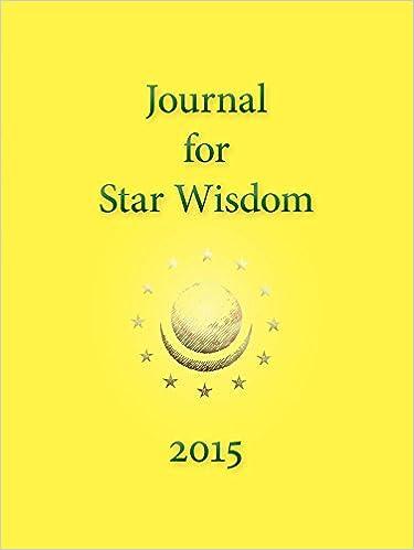 Book Journal for Star Wisdom 2015