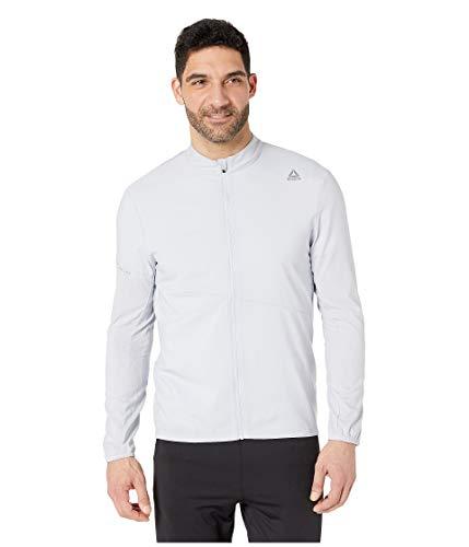 - Reebok Running Essentials Woven Jacket, Cold Grey, X-Large