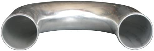 CXRacing 2.75 Inch OD Universal Aluminum Intercooler Pipe 180 Degree U-Bend