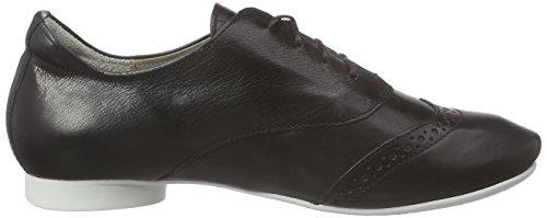 Mujer SZ de derby Think Schwarz WEISS Guad cordones Negro Zapatos 08 P1Wq8qwX