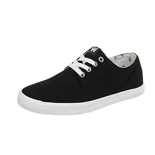 lacets loisirs C chaussures Schwarz 34 Chaussures WD1619A de Chaussures femme basses O7wPY