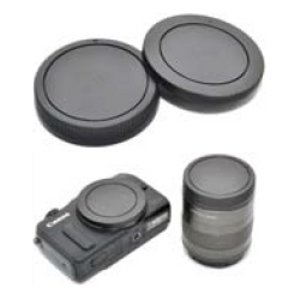 JJC L-R15 Rear lens Cap and Body Cap for Canon EOS M 18-55MM