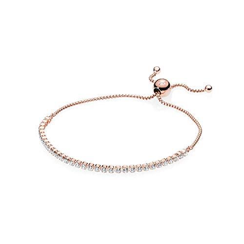 (Pandora Rose Sparkling Strand Bracelet 25 cm 580524CZ2)