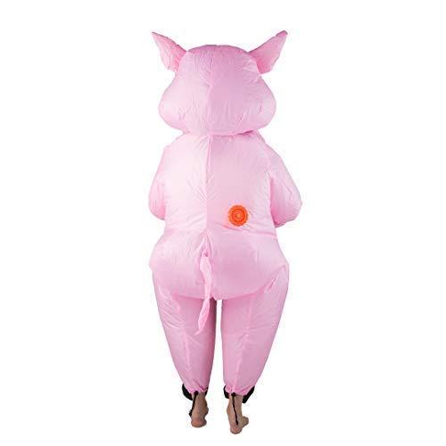 Bodysocks® Disfraz Hinchable de Cerdito Niño: Amazon.es ...