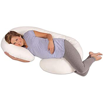 Amazon Leachco Snoogle Original MaternityPregnancy Total Body Unique Snoogle Original Total Body Pillow Cover