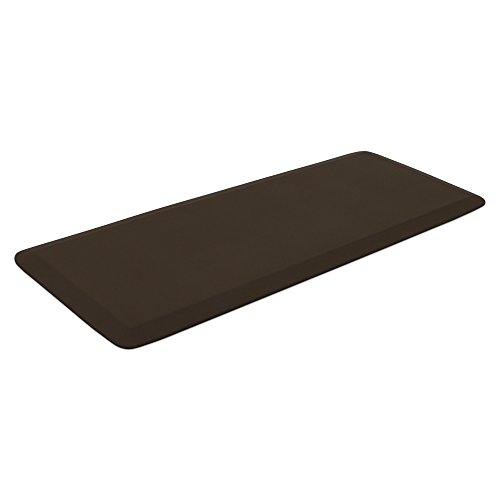 """NewLife by GelPro Professional Grade Anti-Fatigue Kitchen & Office Comfort Mat, 20x48, Earth ¾"""" Bio-Foam Mat with non-slip bottom for health & wellness by NewLife by GelPro (Image #2)"""