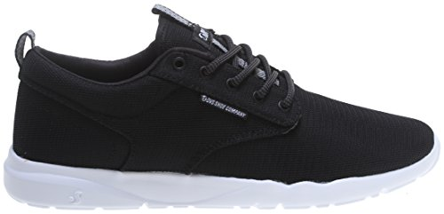 DVS Men's Premier 2.0 Action Sports Athletic, Black/White Mesh, 10 M (Action Sports Footwear)