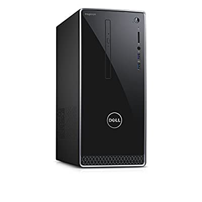 Dell Inspiron i3656-0022BLK Desktop (AMD A8, 8 GB RAM, 2 TB HDD)