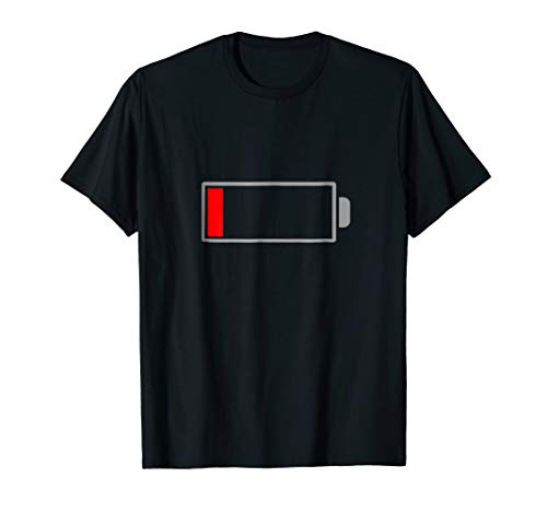 Low Battery T-Shirt Mens & Womens Sizes