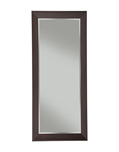 Espresso Finish Mirror (Sandberg Furniture Contemporary Full Length Leaner Mirror, Espresso)